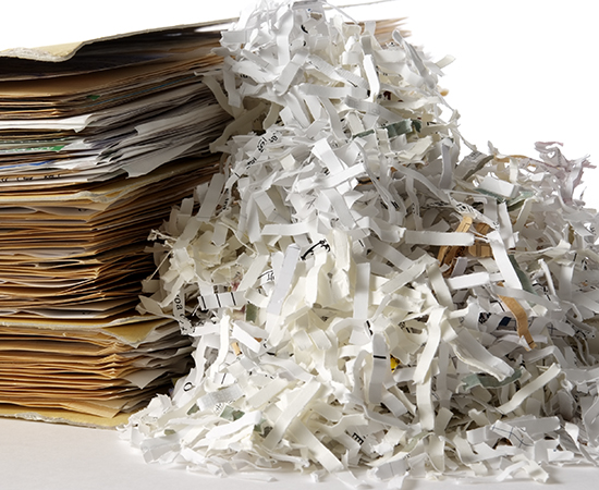 shredding service